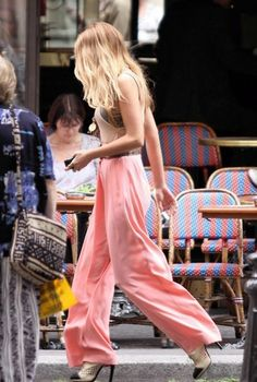 Comfy-But-Chic Trousers... Blake Lively