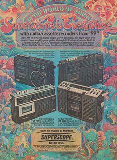 Superscope Ad, 1976