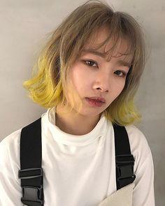 KO-JI / XENA渋谷 代表さんはInstagramを利用しています:「platina lemon yellow 🍋 プラチナベージュからレモンイエローのグラデーションカラー XENA代表KO-JI @xenakoji salon @xena_hair 渋谷区神南1-13-15光立ビル4階 03-6277-5038…」