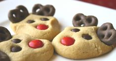 Reindeer Cookies, a Fun Festive Holiday Treat!