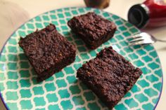 Vegane Rote Bete Brownies - fettarm & glutenfrei - Healthy Lena