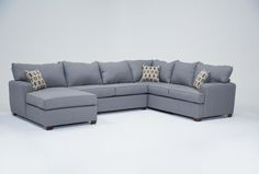 Bingham 3 Piece Sectional W/Laf Chaise - 360