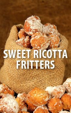Chef Curtis Stone was a special guest co-host on The Chew today and he whipped up his Ricotta Fritters with Strawberry Rhubarb Jam recipe with Carla Hall. The Chew Recipes, Donut Recipes, Sweet Recipes, Cooking Recipes, Just Desserts, Delicious Desserts, Dessert Recipes, Sweet Desserts, Chefs