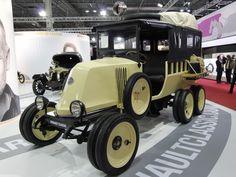 1923-1925 | Renault 10CV Type MH 6x6 Sahara | Fully Restored