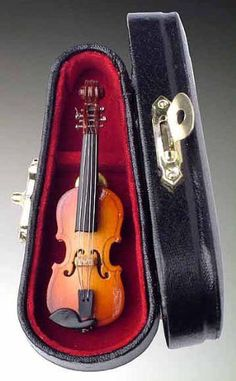 Violin Pin Pin w Instrument Case Musical Gift NEW * Continue to the product at the image link.