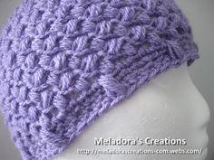 Bean Stitch Beanie - Crochet Tutorial - Baby - Adult sizes