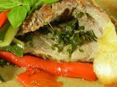 Gigot d'agneau cuisson basse température réalisé à l'Omnicuiseur