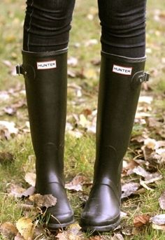 Hunter Boots. Such a classic. I want them.