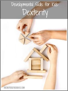 Dexterity is an important child development skill for writing, buttoning, and more!  Find out all about it and learn some activities to help promote it!