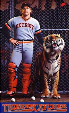 My favorite Detroit Tigers....Lance Parrish
