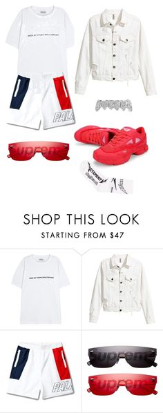 """""""Untitled #429"""" by yung-medusa5 ❤ liked on Polyvore featuring Palm Angels, Louis Vuitton, Vetements, men's fashion and menswear"""