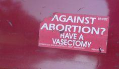 """""""No Uterus no Opinion"""" VIA: Women's Rights News"""