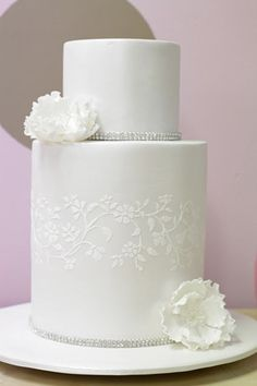 Cake Wrecks - Home - Sunday Sweets: Simply Stunning Unusual Wedding Cakes, Creative Wedding Cakes, White Wedding Cakes, Creative Cakes, Gorgeous Cakes, Pretty Cakes, Amazing Cakes, Cake Wrecks, Double Barrel Cake