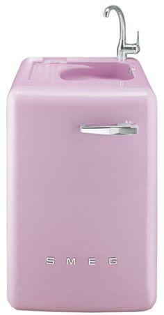 Lave-linge avec évier intégré Smeg