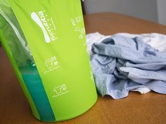 This portable washing bag, discovered by The Grommet, is a pocket sized washing machine replacement for traveling or doing those delicates at home.
