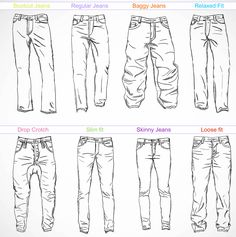 Jeans styles