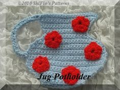 ShiFio's Patterns     Jug Potholder USA