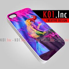 Romantic Disney Little Mermaid  iPhone 4/4s/5 Case  by K01Inc, $15.50