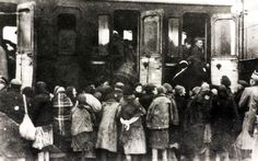 Deportation of Jews from Płońsk to Auschwitz, end of October 1942