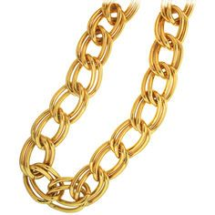 """Hip Hop Rapper 1980's Dokey Chain, 48"""" Long, 1 1/4"""" Wide.  Quality Made in USA! in Gold"""