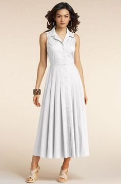 Summer Dresses Collection: Long White Summer Dresses