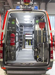 Van Organization, Garage Tool Organization, Van Storage, Truck Storage, Van Racking Systems, Van Shelving, Work Trailer, Mobile Mechanic, Shop Truck