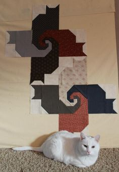 Kats with Kate - the Start  Includes Cat Quilt (Block) Pattern