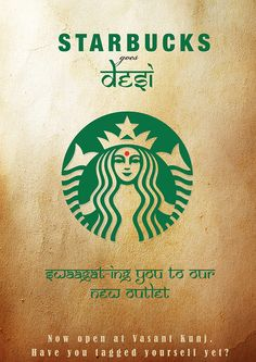 Cost of starbucks around the world infograms pinterest starbucks goes desi on behance fandeluxe Image collections