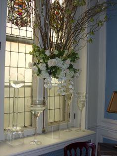 Window Ledge Floral Scape
