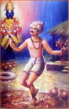 Sant Gora Kumbhar is one of the notable #saints in history. He has been depicted in the Marathi and Kannada movie, he completely immersed in the name of vittala god and accidentally his child comes in search of his father and get struck in the mud and die, you should understand from this that human life is transitory and god only is permanent Sant Gora Kumbhar and other saints also wrote and sung hundreds of Abhangs(Shabads which can not be destroyed).