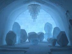 Ice Hotel, Jakkasjarvi, Lapland, Sweden