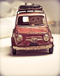 """Photo """"Danbo In The Car"""" by Andrés Nieto Porras #OGQ_Backgrounds"""