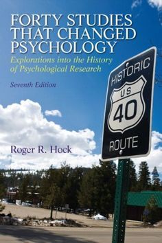 Forty Studies that Changed Psychology (7th Edition) by Roger R. Hock Ph.D. http://www.amazon.com/dp/0205918395/ref=cm_sw_r_pi_dp_kr3ewb1DTR2BD