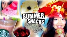 Healthy and Refreshing Summer snacks! Including Pizza, Nutella popsicle, Watermalon Popsicle, Yogurt Cookies and more! Healthy Summer Recipes, Summer Snacks, Healthy Life, Nutella, Breakfast, Easy, Food, Summer Finger Foods, Meal