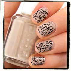 Print anything you want on your nails - tutorial