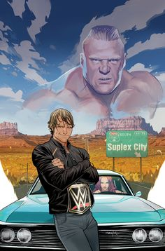 Dean Ambrose: the scrappy, wild-eyed, people's champion who never says die-and the Lunatic Fringe. While his ex-brothers are obsessing over the championship, Dean has taken crazy to an entirely new level by provoking the scariest man in the WWE-the beast incarnate, Brock Lesnar.