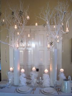 Love this winter table! Taylor proctor check this out for our shoot