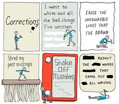 INCIDENTAL COMICS: Corrections