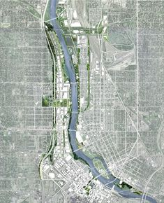 Minneapolis River Design Competition - Tom Leader Studio