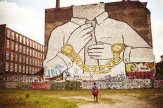 by BLU in Kreuszberg, Berlin, Germany.