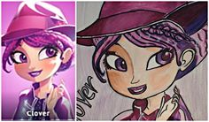 How to Draw Clover from Disney Star Darlings