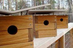 modern birdhouses / weiler