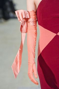 Alexis Mabille: Spring Summer 2011. Couture Satin Buttoned Opera Gloves. Left and right embellished differently. http://media-cache-ak0.pinimg.com/736x/a6/ef/d0/a6efd06191e7ef295beffef8c5b48407.jpg http://media-cache-ec0.pinimg.com/originals/47/60/52/47605245c6060f4d25a92bb1ef6a3b5c.jpg http://media-cache-ec0.pinimg.com/originals/ec/92/a7/ec92a70f0e8fa9528380be72cad647e0.jpg http://media-cache-ak0.pinimg.com/originals/67/53/69/675369ce97aeff42bc58e99cbeb2559f.jpg