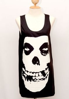 The Misfits Shirt Horror Skull Punk Rock Band by Passion2flower, $14.99