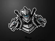 73 Strong Knight Logo Design Ideas for You Team Logo Design, Logo Desing, Mascot Design, Sport Design, Logo Esport, Logo Branding, Knight Logo, Esports Logo, Sports Team Logos
