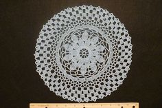Ravelry: Eight-Inch Doily pattern by Jacqui Cunningham