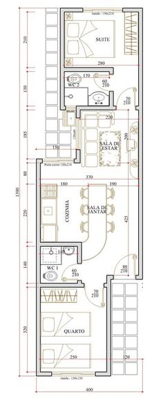 Casa - 2 Quartos - 44.98m² - Monte Sua Casa