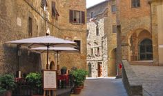 streets of volterra italy awww