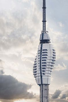 Supertall Camlica TV and Radio Tower nears completion in Istanbul Amazing Architecture, Contemporary Architecture, Architecture Design, Radios, Structural Expressionism, Istanbul, Facade Engineering, Best Architects, Places