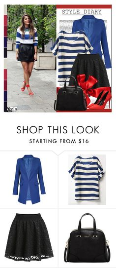 """""""SheIn #10 (IV)"""" by cherry-bh ❤ liked on Polyvore featuring Furla, ASOS, women's clothing, women, female, woman, misses, juniors and shein"""